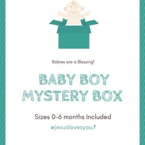 Other - Baby 👶 🍼Boy Mystery Box 📦